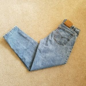 Men's Vintage Levis 550 Tapered Leg Jeans 36x30